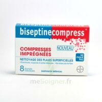 Biseptinecompress Compressses Impregnees, Bt 8 à Dijon