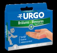 Urgo Brulures-blessures Petit Format X 6 à Dijon
