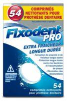 Fixodent Pro Comprimés Nettoyant Fraîcheur Longue Durée Pour Prothèse Dentaire B/54 à Dijon