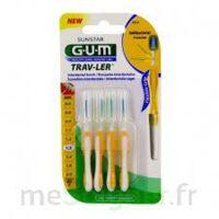 Gum Trav - Ler, 1,3 Mm, Manche Jaune , Blister 4 à Dijon