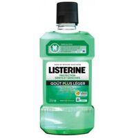 Listerine Protection Dents Gencives Bain Bouche Goût Plus Léger Fl/500ml à Dijon