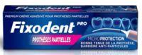 Fixodent Pro Crème Adhésive Pour Prothèse Partielle T/40g à Dijon