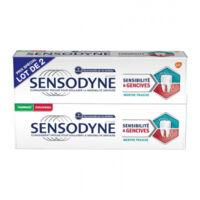 Sensodyne Sensibilité Et Gencives Menthe Fraîche 2t/75ml à Dijon