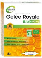 Cooper Gelée Royale Bio 1500 Mg Solution Buvable 20 Ampoules/10ml